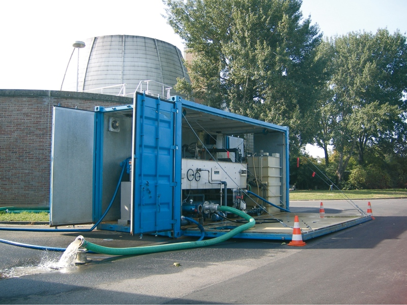Efficient thickening of waste activated sludge at the WWTP