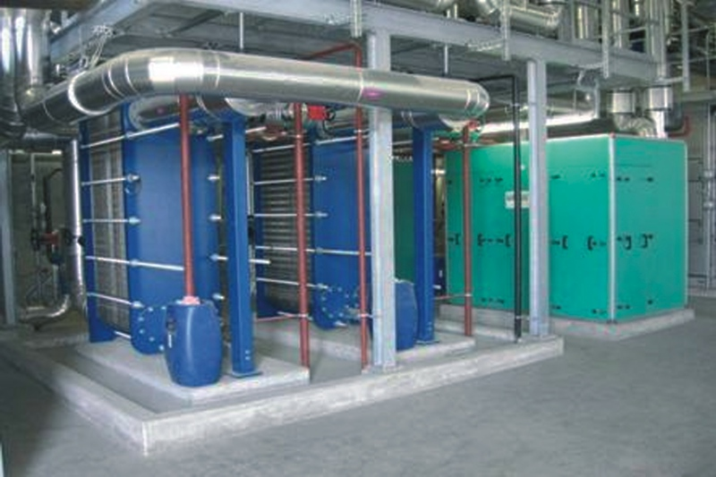 Innovative system for heat recovery from wastewater huber se for Innovative heating systems