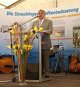 Dr.-Ing. E.h. Huber spoke not only as supervisory board chairman of HUBER SE but also as representative of Umweltcluster Bayern