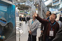 Visitors from all over the world are interested in our products and solutions