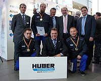 HUBER Technology Service: German DWA Champions in wastewater technology