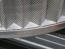 Star-shaped screen drum of the ROTAMAT® Perforated Plate Screen RPPS-Star