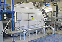 HUBER ROTAMAT® Membrane Screen RoMem Pro 1600 installed on STP Bitterfeld-Wolfen