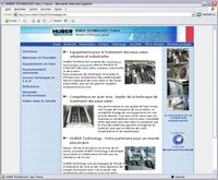 www.huber.fr Screenshot