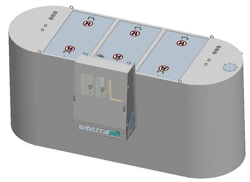 HUBER Kompaktkläranlage smartMBR - Wasseraufbereitung für für ...