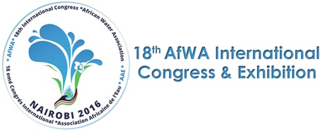 Logo 18th AfWA International Congress and Exhibition